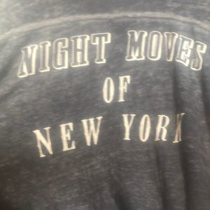 Free people night moves of New York tee l